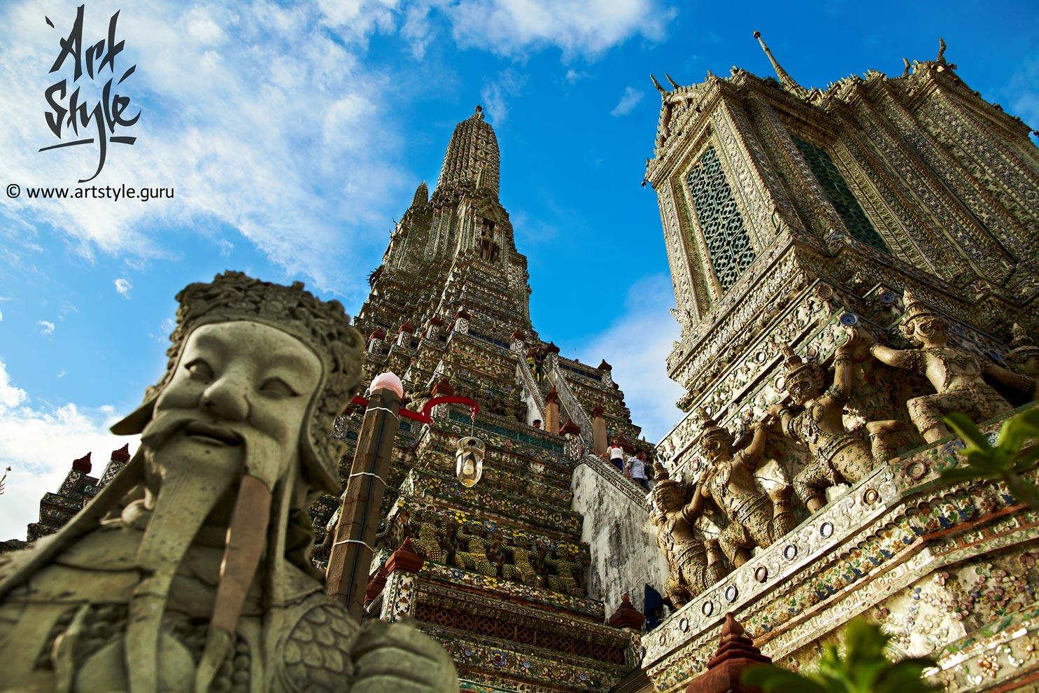 Wat Arun at daytime, Bangkok, Thailand.