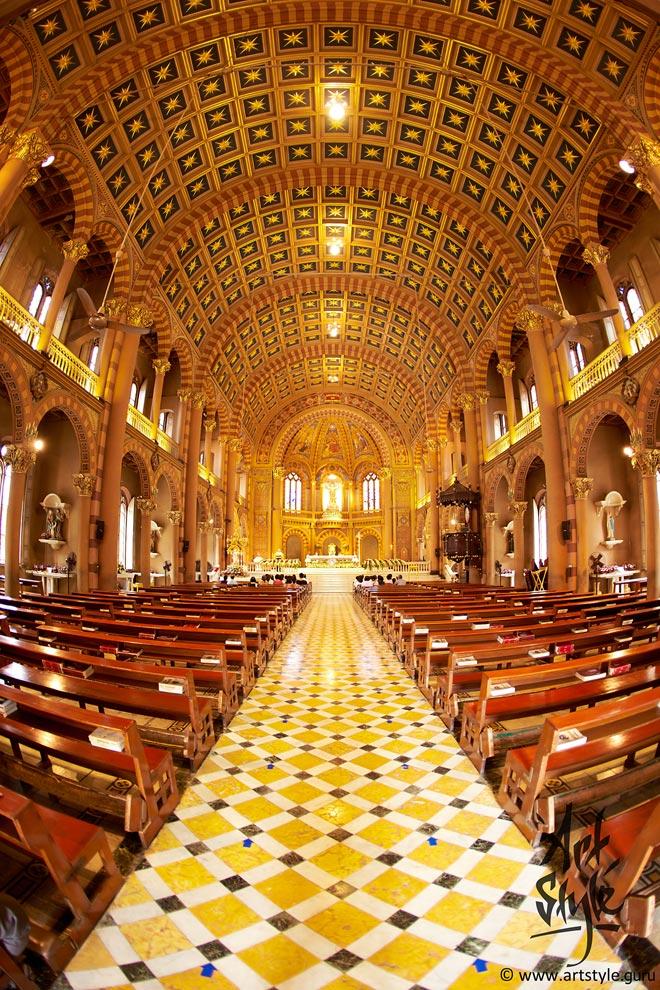 The Assumption Cathedral, Bangkok, Thailand.