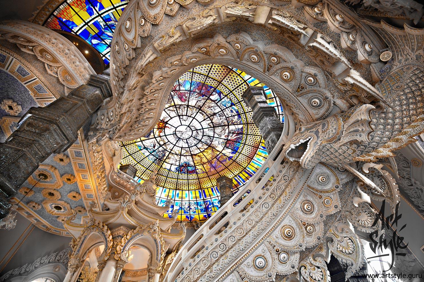 Erawan museum/temple, Bangkok, Thailand.