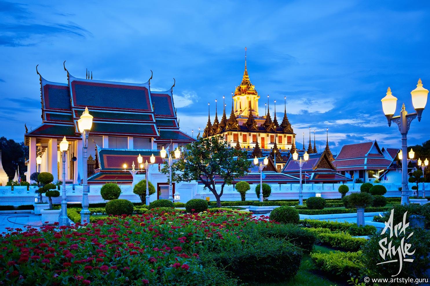 Loha Prasat, Wat Ratchanaddaram, Bangkok.