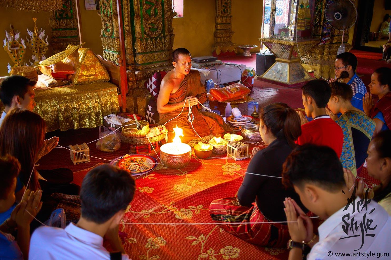 Wat Simeuang, Vientiane, Laos.