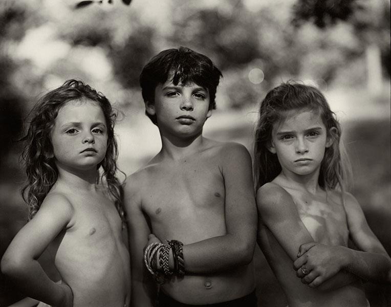 Emmett, Jessie and Virginia. 1989